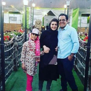 محسن میرزازاده همسرش دخترش ریحانه