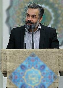 کریمی در دیدار مداحان با رهبر ایران در بیت رهبری