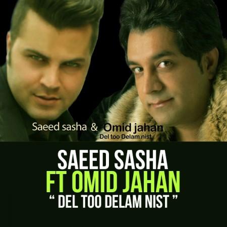 دانلود آهنگ شاد دل تو دلم نیست از سعید ساشا