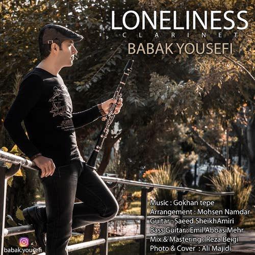 دانلود آهنگ جدید بی کلام بابک یوسفی بنام تنهایی