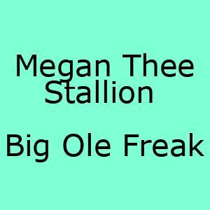 آهنگ جدید Big Ole Freak Megan Thee Stallion