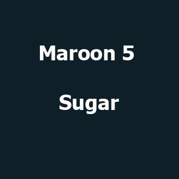 اهنگ sugar brownies Maroon 5
