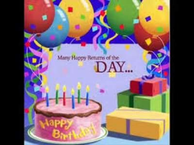 اهنگ تولدت مبارک انگلیسی